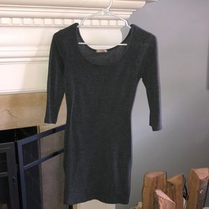 3/4 Long Sleeve Sweater Dress